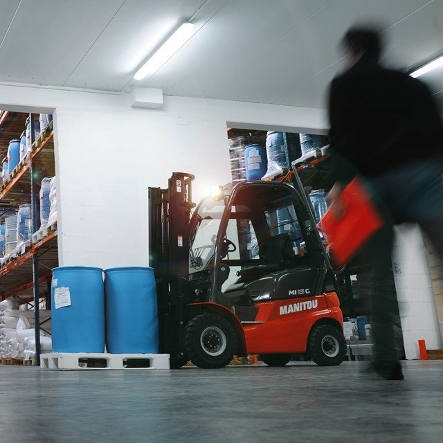DLL Product Example forklift truck